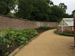 Inside the walled kitchen garden
