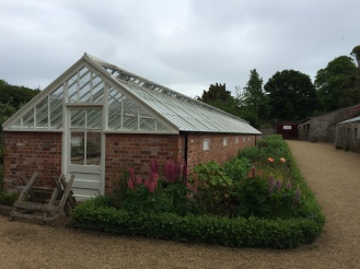 A pit house, a traditional Irish greenhouse