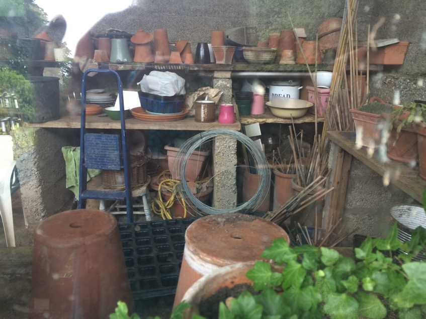 One of the potting sheds