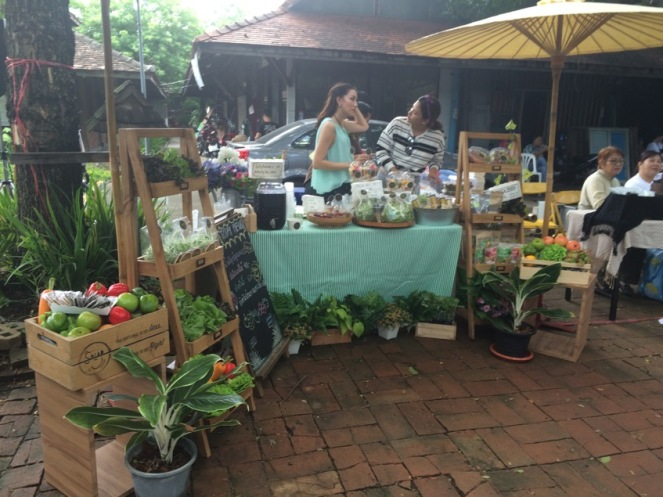 The Salad Concept's stall