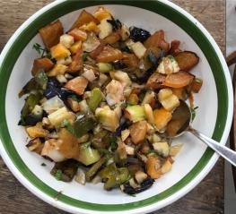 roasted seasonal veg