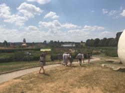 Hauser and Wirth party, Piet Oudolf Garden