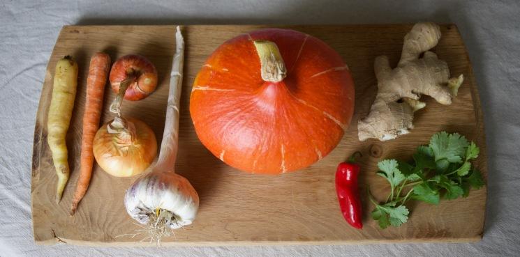 2.9: velvety roasted squash soup ingredients